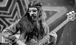 Glenn Cornick performing with Wild Turkey in 1971.