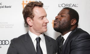 Michael Fassbender and Steve McQueen at the Toronto 2013 premiere of 12 Years a Slave