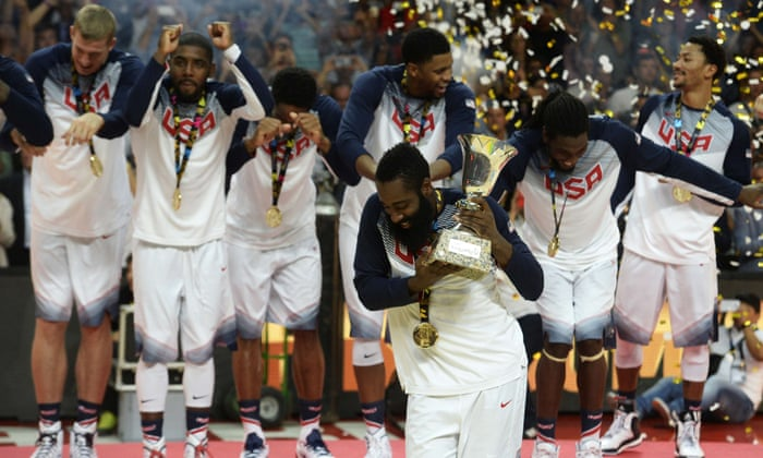 96e50a62b11d Kyrie Irving leads Team USA to Fiba World Cup final win over Serbia ...