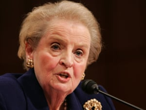 """There's a special place in hell for women who don't help other women,"" Madeleine Albright."