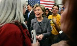 Hillary Clinton, Iowa 2007