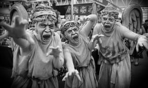 Straight out of your nightmares: Doctor Who's Weeping Angels.