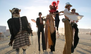 Burning Man: kindergarten for middle class adults.