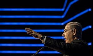 Israeli PM Netanyahu speaks at Cybersecurity Conference