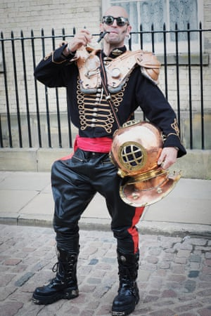 Steampunk takes its inspiration from Victorian-era innovations including dirigibles and submarines
