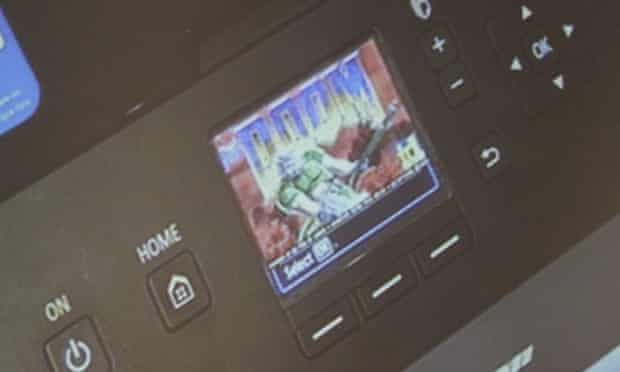 Running Doom on a printer is more than a gimmick: it's a security concern.