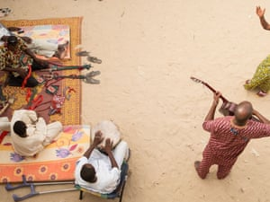 Musicians and dancers rehearse in Timbuktu