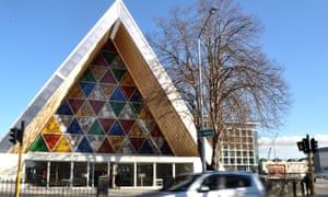 The Transitional Cathedral in Christchurch