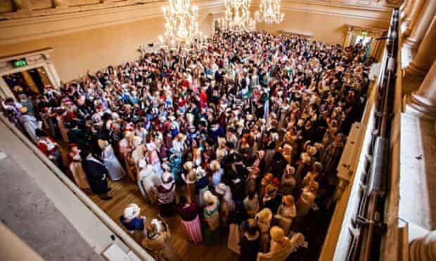 Jane Austen festival 2014 - Regency costume world record
