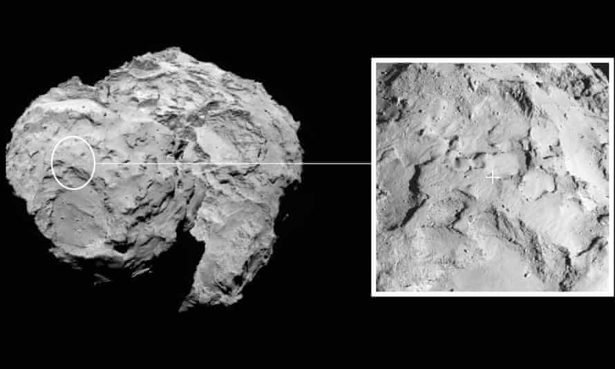 Rosetta mission: primary landing site for Philae lander on Comet 67P/Churyumov-Gerasimenko