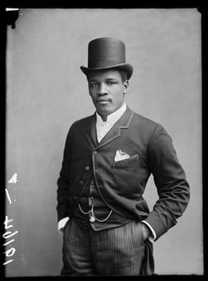 Peter Jackson, 1889, London