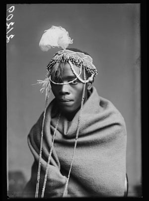 Member of the African Choir, London Stereoscopic Company, 1891
