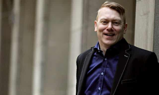 Offered 'free towels in all public swimming pools' on the campaign trail … Jón Gnarr. Photograph: Br