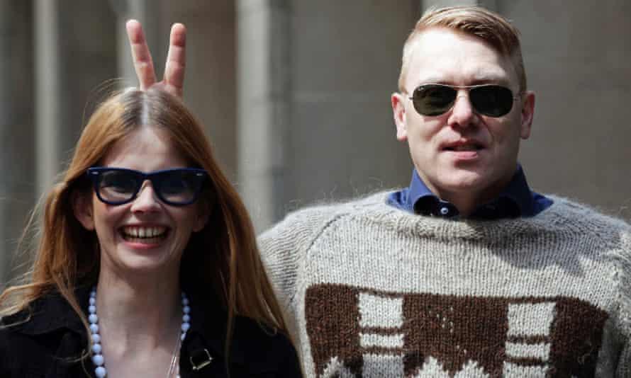 Gnarr with Best party leader Heida Helgadottir in 2011. Photograph: Brendan McDermid/Reuters