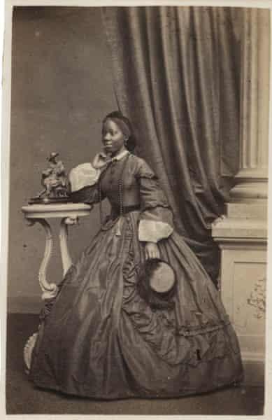 Sara Forbes Bonetta. Brighton, 1862.