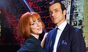Sheridan Smith and Ed Stoppard in Cilla.