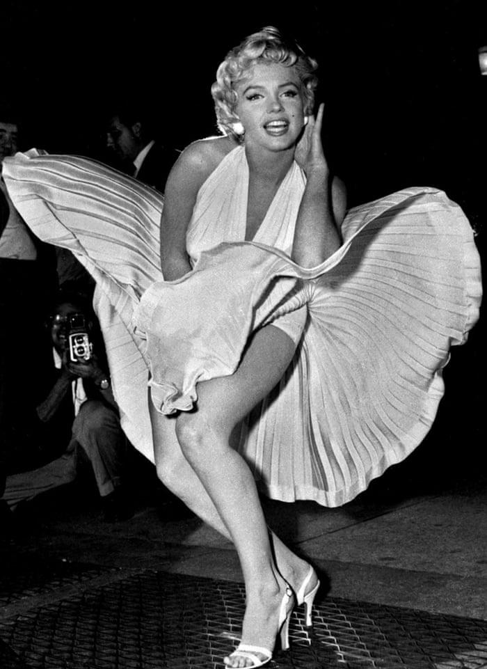 marilyn monroe kleid film