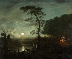 Constable, The Making of a Master.  John Constable after Rubens, Moodlight Landscape with Hadleigh church, 1796,.