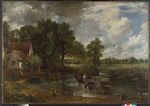 """Constable, The Making of a Master. """"The Hay Wain"""" 1821c."""
