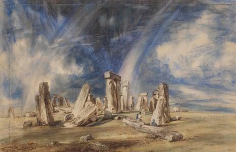 Stonehenge, c.1835.