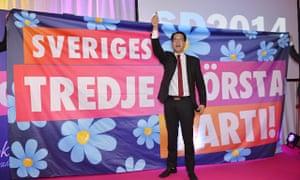 Sweden Democrats leader Jimmie Akesson