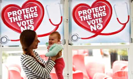 Scottish NHS independence debate