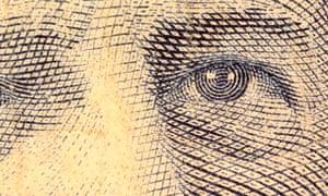 canadian dollar closeup
