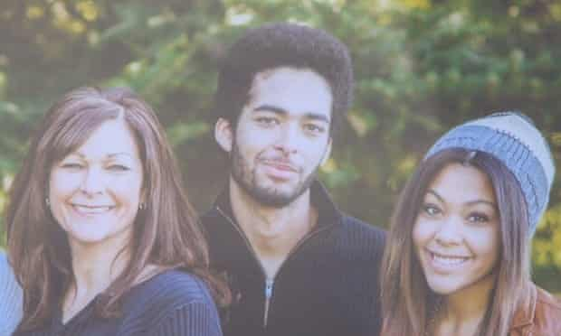 Darrien Hunt in a family photograph.
