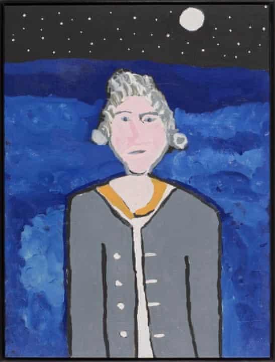 Vincent Namatjira's Captain Cook (2013). Artbank