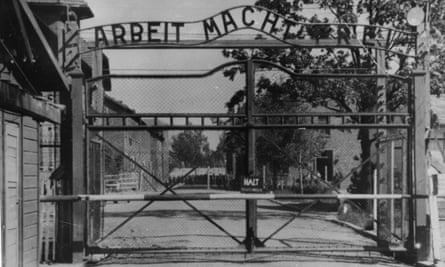Oskar Groening, who was a guard at Auschwitz, has been charged with 300,000 counts of accessory to murder.