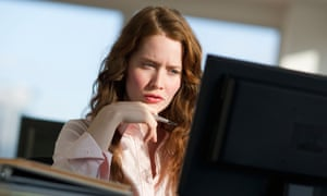woman working at computer new