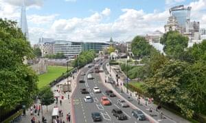 London cycle superhighway