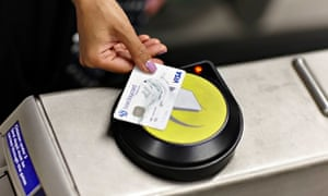 Contactless payments for rail tickets