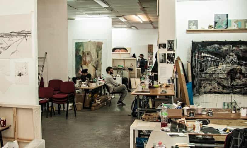 Turps art school in London
