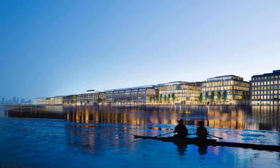 China's recent property sweep includes a £1bn investment in London's Royal Docks.