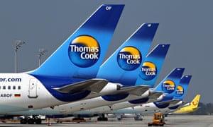 Thomas Cook planes