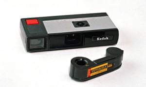 Kodak Pocket Instamatic camera and film, 1972.