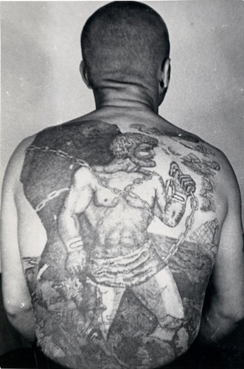 958c88450 Decoding Russian criminal tattoos – in pictures   Art and design   The  Guardian