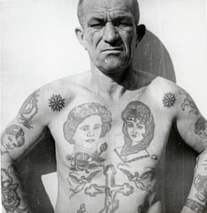 Decoding Russian Criminal Tattoos In Pictures Art And Design