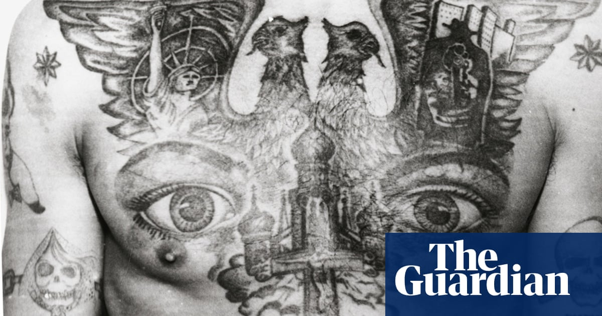 778885d0be286 Decoding Russian criminal tattoos – in pictures | Art and design | The  Guardian