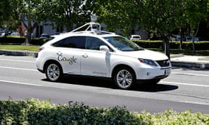 self driving car The Guardian