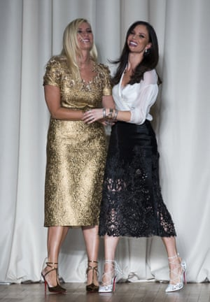 Marchesa designers Karen Craig and Georgina Chapman