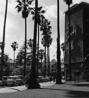Beverly Hills Hotel, California, in the 1950s.