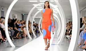Roksanda Ilincic runway London Fashion Week SS15