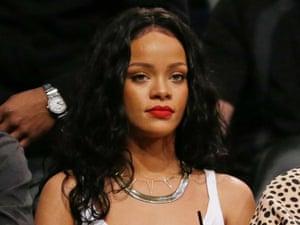 Rihanna has been cut by CBS.