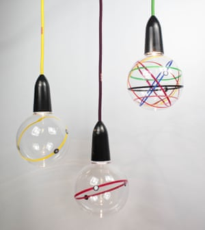 LDF #7: Lights from a Transport for London pop-up bar and restaurant