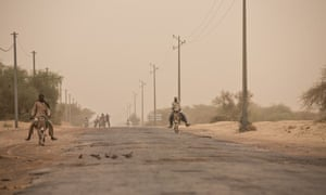 One of the roads out of Timbuktu, Mali