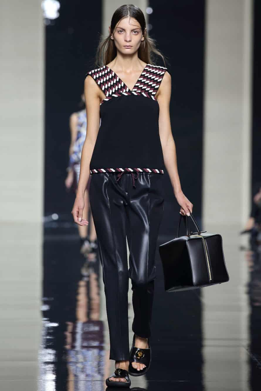 Leather at Christopher Kane