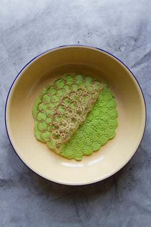 LDF #17: Edible lace By Cecile Rudolph