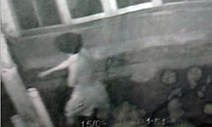 CCTV of suspect in Thailand